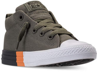 Converse Little Boys' Chuck Taylor All Star Street Mid Casual Sneakers from Finish Line