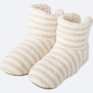 Uniqlo Women's Fluffy Fleece Slippers