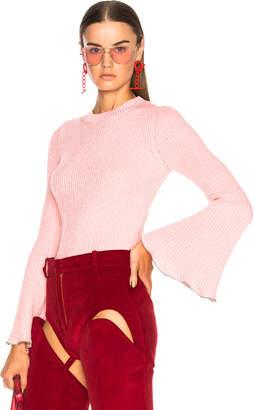 Philosophy di Lorenzo Serafini Bell Sleeve Sweater