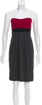 Ella Moss Strapless Knit Mini Dress