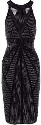 Rachel Gilbert Thyra Bead And Sequin-Embellished Tulle Dress
