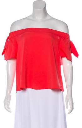 Timo Weiland Short Sleeve Casual Blouse