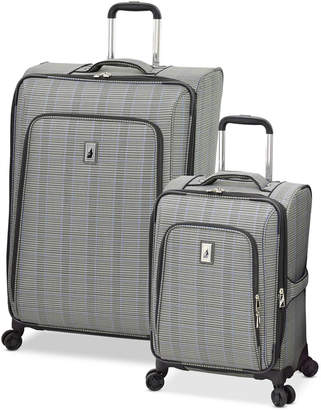 London Fog Knightsbridge II Expandable Spinner Luggage Collection & Reviews - Luggage - Macy's