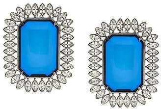 Balenciaga oversized octagonal earring