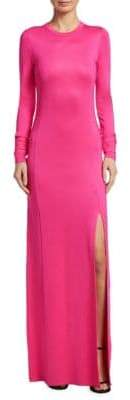 Elizabeth and James Fallon Jersey Side Slit Gown