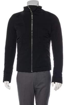 Rick Owens Down Zip Jacket w/ Tags black Down Zip Jacket w/ Tags