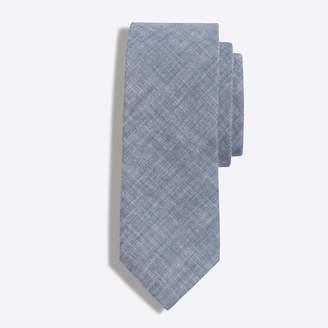 J.Crew Mercantile Faded chambray tie