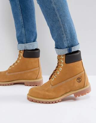 Timberland classic 6 inch premium boots in wheat