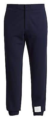 Thom Browne Men's Tech Knit Piping Sweatpants