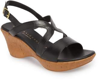 Athena Alexander Pomade Wedge Sandal