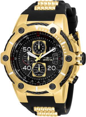 Invicta 25468 Gold-Tone & Black Bolt Watch