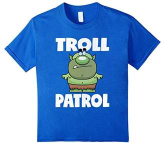 Troll Patrol Funny Vintage Retro Trolls Love T-Shirt