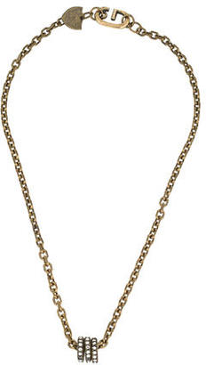 Giles & Brother Crystal Charm Chain Necklace $95 thestylecure.com