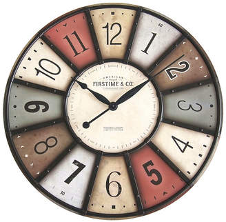 Co Firstime & Firstime and Color Motif Wall Clock