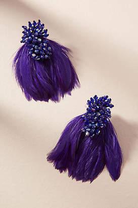 Mignonne Gavigan Petite Delaney Feather Drop Earrings