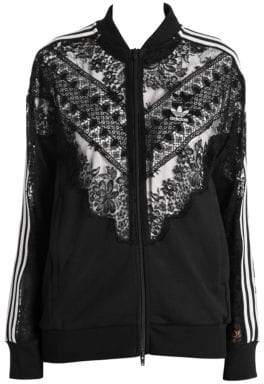 Stella McCartney Women's by adidas Track Jacket - Black - Size Small