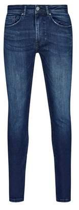 Mens Indigo Ethan Super Skinny Jeans