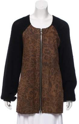 Rachel Comey Leather Printed Coat