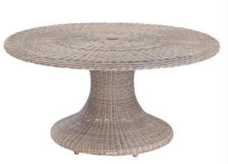 Lulu & Georgia Kingsley Bate Sag Harbor Indoor/Outdoor Round Dining Table, Driftwood