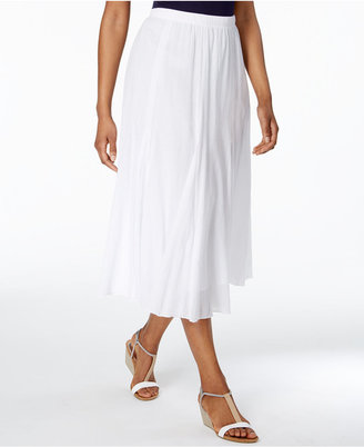 Alfred Dunner Bahama Bays Midi Skirt $58 thestylecure.com