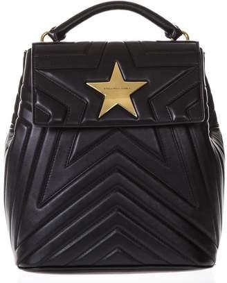 Stella McCartney Star Black Eco Leather Backpack