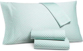 Charter Club Printed Dot Twin 3-pc Sheet Set, 550 Thread Count, Created for Macy's