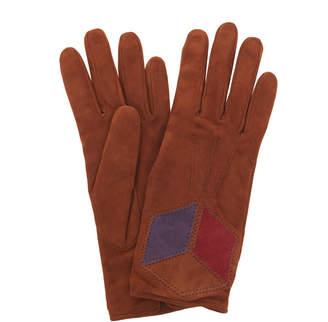 Bottega Veneta Matt Suede Gloves
