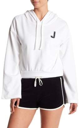 Juicy Couture Bell Sleeve Logo Pullover