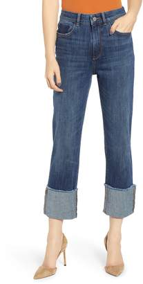 DL1961 Jerry Cuff Straight Leg Jeans