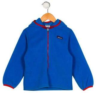 Patagonia Boys' Fleece Hooded Jacket