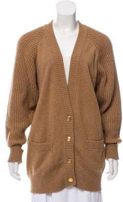 Chanel Camel Hair Cardigan
