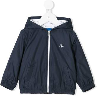 Fay Kids lightweight zip up jacket