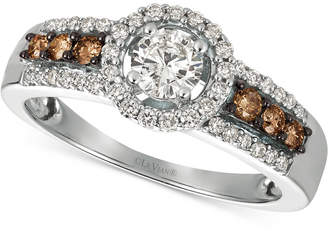 LeVian Le Vian Chocolatier® Diamond Ring (3/4 ct. t.w.) in 14k White Gold