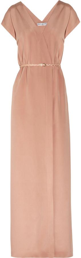 Paul & Joe Panama silk maxi dress