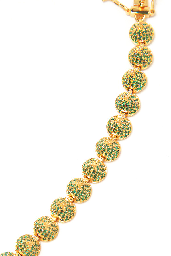 Eddie Borgo Small Pave Cone Bracelet