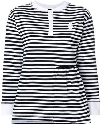 Peter Jensen striped knitted top