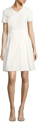 HUGO BOSS Women's Dylena Matelasse Pleated Dress