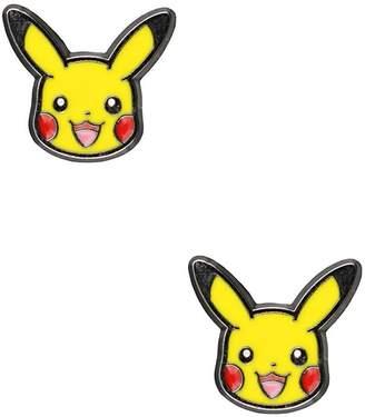 Pokemon Pikachu Stainless Steel Stud Earrings