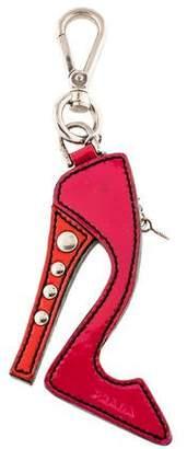 Prada Patent Leather High Heel Bag Charm