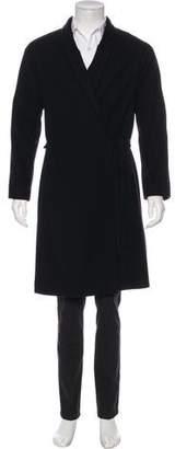 Dries Van Noten Wool & Cashmere-Blend Coat