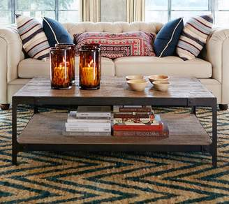 Pottery Barn Clint Reclaimed Wood Coffee Table