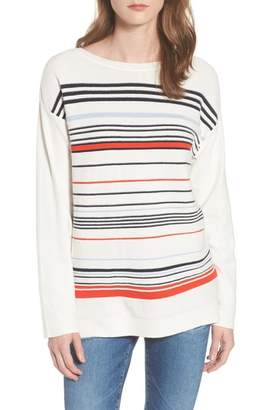 Barbour Whitby Stripe Cotton Sweater