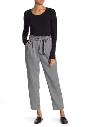 Know One Cares High Waist Paperbag Trouser Pants