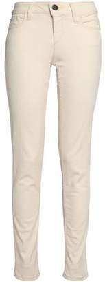 Alice + Olivia Jane Mid-Rise Skinny Jeans