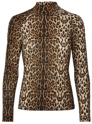 Laundry by Shelli Segal LOLLYS Soft Leopard Top