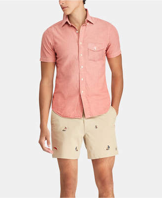 Polo Ralph Lauren Men's Big & Tall Classic Fit Chambray Shirt
