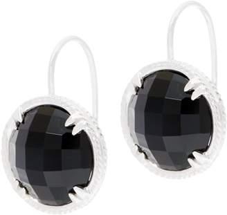 Delatori DeLatori Sterling Silver Gemstone Drop Earring