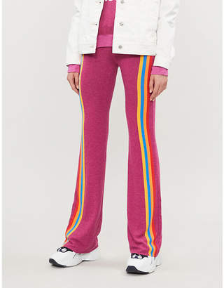 Wildfox Couture Retro Track Tennis Club cotton-blend jogging bottoms