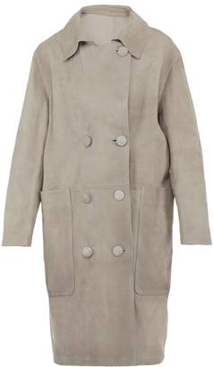 Golden Goose Leather Coat