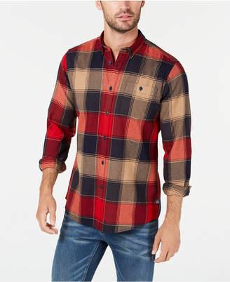 Barbour International Steve McQueen Men Joseph Pocket Plaid Shirt